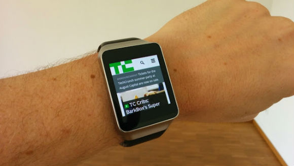 android wear browser